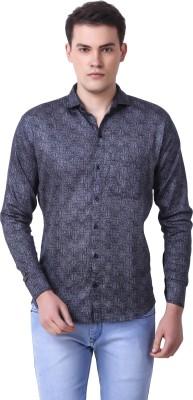 Cavenders Men's Printed Casual Shirt