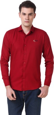 Cavenders Men's Solid Casual Shirt