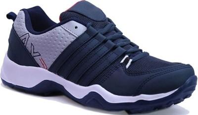 Clymb Men's Dangal Navy Blue Sports Running Shoes