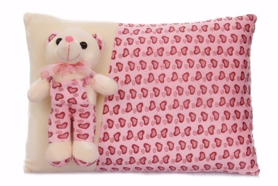 Mable New born baby Gift Linear Pillow Pink Stuffed Toy Teddy bear (38 CM) - Feet 2 inches Long  - 30 cm(Pink)  available at flipkart for Rs.349