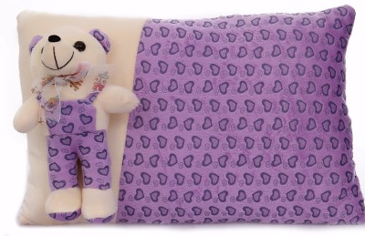 Mable New born baby Gift Linear Pillow Purple Stuffed Toy Teddy bear (38 CM) - Feet 2 inches Long  - 30 cm(Purple)  available at flipkart for Rs.349