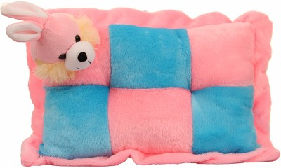 Mable New born baby Gift Multi Colour Pillow Rabbit Pink Stuffed Toy Teddy bear (38 CM) - Feet 2 inches Long  - 30 cm(Pink)  available at flipkart for Rs.349