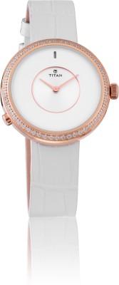 Titan 90060WL01 WE Smart Analog Watch For Women