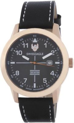 Swiss Eagle SE-9122-01  Analog Watch For Men