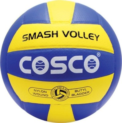 Cosco Smash-004 Volleyball - Size: 4(Pack of 1, Multicolor)