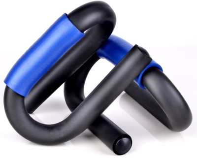 S.Blaze S Shaped Moulded Any Rust Foam Gripped Push-up Bar(Blue)