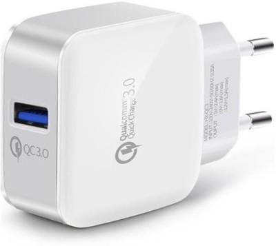 Edfigo QC-3.0 Mobile Charger(White & Gray)