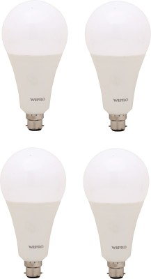 Wipro 23 W Standard B22 LED Bulb(Yellow, Pack of 4)  available at flipkart for Rs.2500