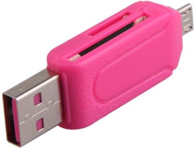 RETAILSHOPPING CR-2.0-777 Card Reader(Pink)