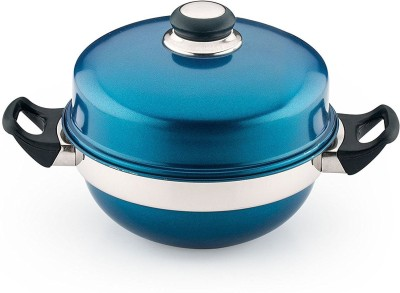 Pigeon Multi Kadai Blue Induction & Standard Idli Maker(3 Plates , 12 Idlis )  available at flipkart for Rs.1167