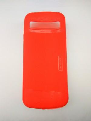 promo code 2b02e 929e6 Boom Soft Back Case Cover For Jio Lyf Jio Phone Feature F90M Back Panel(Red)