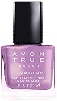 Avon Anew Satin Matte Finish Nail Paint, 8 ML Leading Lady
