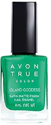 Avon Anew Satin Matte Finish Nail Paint, 8 ML Island Goddess