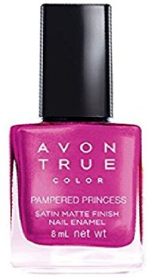 Avon Anew Satin Matte Finish Nail Paint, 8 ML Pampered Princess
