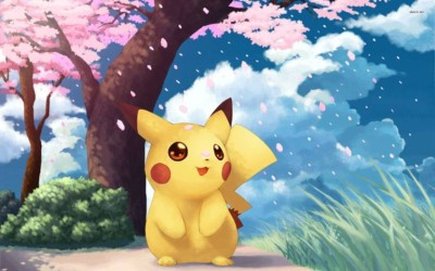 WingAge Pikachu - Pokemon Paper Printed Poster (12x18inch) Paper Print(18 inch X 12 inch)  available at flipkart for Rs.219