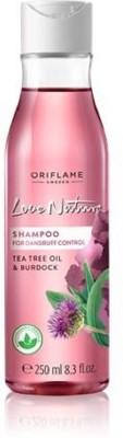 Oriflame Sweden Love Nature 2in1 Shampoo for Flaky scalp with Tea Tree Oil & Burdock(250 ml)  available at flipkart for Rs.325