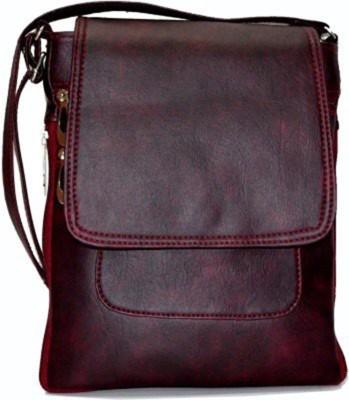 Bizarre Vogue Maroon Sling Bag BV936 Bizarre Vogue Sling Bags