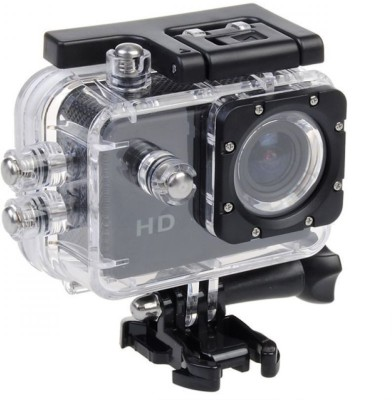 View Technomart 1080 Waterproof HD 1080p Action Sport Camera Video Helmet Cam Bike DVR Sports and Action Camera(Black 12 MP) Camera Price Online(Technomart)