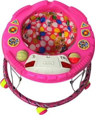 Baby Walker Musical Activity Walker(Pink)  available at flipkart for Rs.699