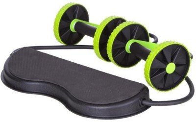 Strauss Fitness (With 6 Levels Resistance) Ab Exerciser(Black, Green)