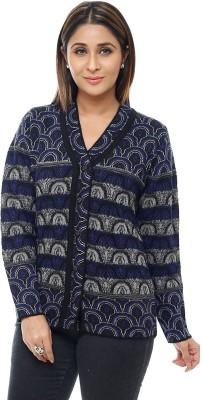 Perroni Women's Button Printed Cardigan