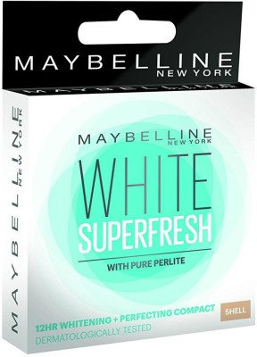 Maybelline White Super Fresh Compact Shell, 8 Gm
