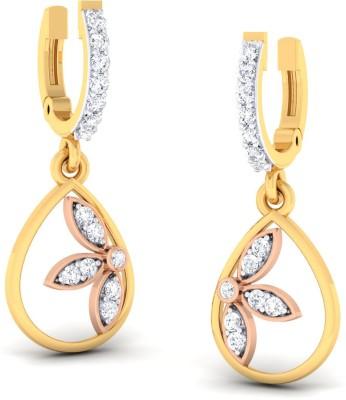 Jisha The Taashi Yellow Gold 18kt Diamond Clip on Earring