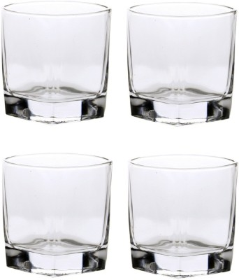 Sedulous Unbreakable Curved Plastic Glass Set Of 6 Glass Set(Plastic, 250 ml, Clear, Pack of 6)