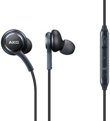 NeroEdge AKG EO-IG955 High-Resolution In-Ear Headphones Wired Headphone(Balck, In the Ear)