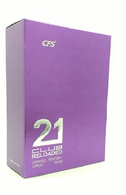 CFS Exotic 21 Club Purple Reloaded Perfume 100ML Eau de Parfum  -  100 ml(For Men & Women)  available at flipkart for Rs.399