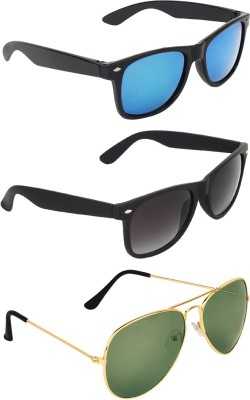 b00d03b4f84 72% OFF on Royal Son Wayfarer Sunglasses(Blue