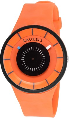 Laurels LCH-CVE-111111 Creative Sillicone Analog Watch For Men
