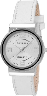 Laurels LWW-FL-070107 Floral Analog Watch For Women