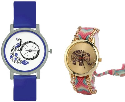 INDIUM NEW ELEPHANT WATCH WITH PEACOCK INTERNAL DESIGN WATCH FANCY LATEST COLLECTION FROM PLANET ZONE Watch  - For Girls   Watches  (INDIUM)
