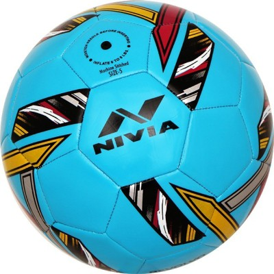 Nivia REVOLVO Football - Size: 5(Pack of 1, Blue)  available at flipkart for Rs.562