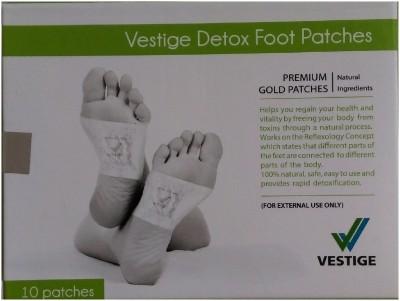 Vestige DETOX FOOT PATCHES & BIO ENERGY ANTI-RADIATION NEGATIVE ION  CARD(250 g)