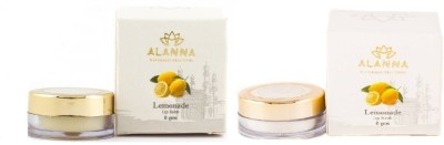 Alanna Naturally Beautiful Best Lip Care Combo Pack of Lip Balm & Lip scrub (Lemon Flavor)(Set of 1)  available at flipkart for Rs.325