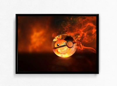 |Pokemon| Matte Poster, 12x18 inches Matte Print [HD Bright Art Print, Medium Size, Rolled Poster] Paper Print(18 inch X 12 inch)  available at flipkart for Rs.215