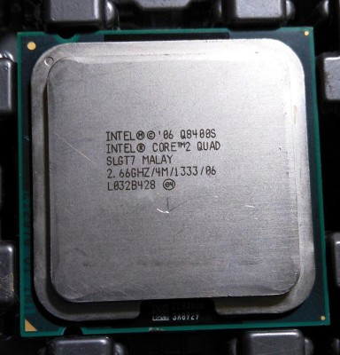 Intel 2.66 LGA 775 Q8400S Processor(Silver)