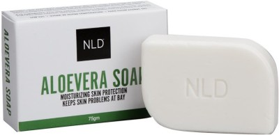 nld cosmetics ALOEVERA NEEM SOAP(75 g, Pack of 4)  available at flipkart for Rs.99
