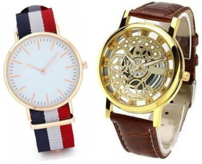 Mantra Analog Watch   For Couple