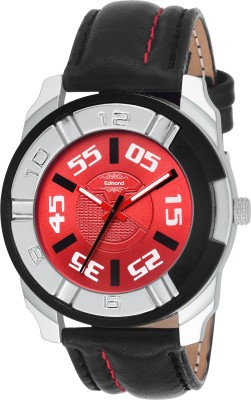 EDMOND HIGH QUALITY ANALOG WATCH FOR MEN IN RED ED-017 EDMOND 017 RED Watch  - For Men
