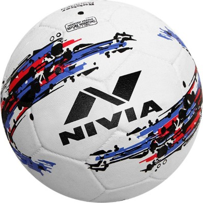 Nivia STORM WHITE  Football   Size: 5