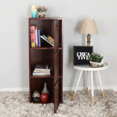 Home Full Max Engineered Wood Free Standing Cabinet(Finish Color - MOHAGONY)