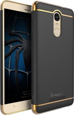 Niptin Back Cover for Mi Redmi Note 3 Black