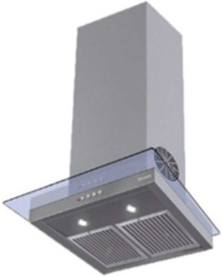 Faber HOOD GLASSY 60 3D T2S2 LTW (with free gift cutlery set from Giftipedia) Wall Mounted Chimney(White 1095)  available at flipkart for Rs.20740