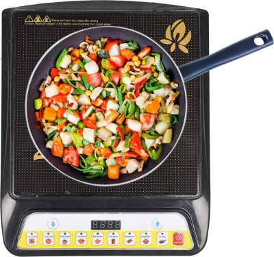 Premier Star A8 Induction Cooktop Induction Hob Electric Countertop Burner Induction Cooktop(Black, Yellow, Push Button)  available at flipkart for Rs.1399