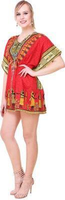 Dimpy Garments Printed Crepe Women's Kaftan