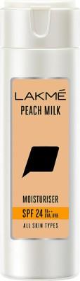 Lakmé Peach Milk SPF 24 PA++ Moisturiser(120 ml)