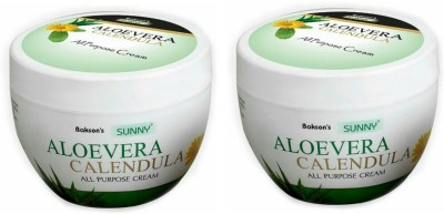 Sunny Aloevera Calendula cream-250gm (Pack of 2)(250 g)